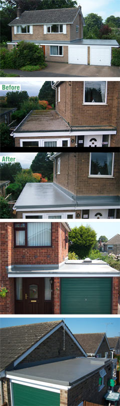 A whole variety of first class GRP roofs from Weatherproof UK